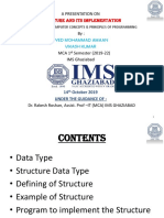 structure and its implementation
