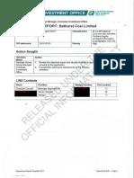 Bathurst's OIO Application