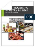 Food Processing Industry in India