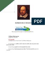William Shakespeare - Sonetos e Textos