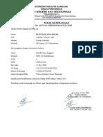 Surat Keterangan Pip Tahap i 2019