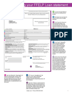 education loan statement guide