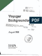 Voyager Backgrounder 1981
