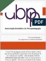 Psicopedagogia – Do Surgimento à Contemporaneidade Salvador Março 2019