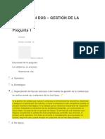 Dos - GESTION DE LA CALIDAD