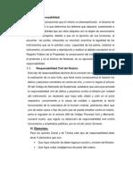 Clases de Responsabilidad Profesional Del Notario