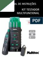 Kit testador manual