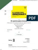 El Camino Para Innovar Resumen Gratuito Miguel Macías Rodríguez