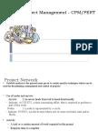 Pert/CPM Analysis
