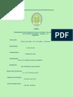 informe de Avance Obra Simbal - Practicas preprof