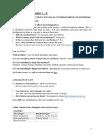 Biz Law Revision Notes