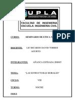 Estructuras Morales