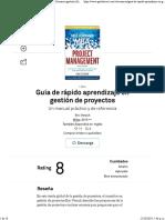 Guía de rápido aprendizaje en gestión de proyectos Resumen gratuito  Eric Verzuh.pdf