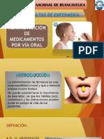 17. Adminsitracion de Medicamentos via Oral