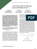 Analisis de Armicos en Systen Distribution-rani2016