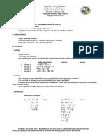 Lesson Plan Radical Equations