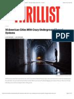 14 American Cities With Crazy Underground Tunnel Systems - Chicago, Boston, New York - Thrillist