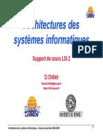 Architectures Des Systèmes Informatiques