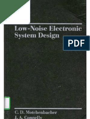 Low Noise Electronic Design Motchenbacher Signal To Noise Ratio Amplifier