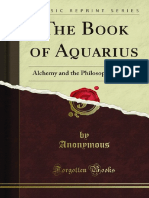 The Book Aquarius Alchemy and the Philosophers Stone