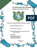 Universidad Tecnológica de Los Andesisela Derechos Humanos