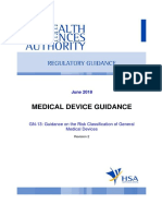 GN-13-R2 Guidance on the Risk Classification of General Medical Devices(18Jun-Pub)