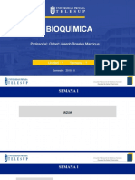 Agua Bioquímica