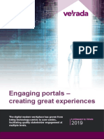 Engaging Portals - Creating Great Experiences