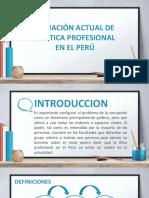Etica en El Peru Actual