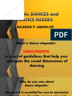 Dance ettiquet