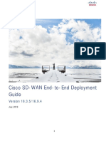 SD WAN End to End Deployment Guide