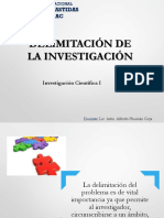 8. Delimitacion de La Investigacion
