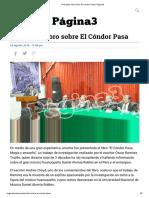 Presentan Libro Sobre El Cóndor Pasa _ Página3