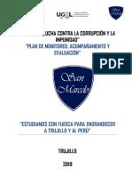 Plan de Monitoreo y Acompañamientosan Marcelo