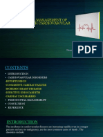 Periodontal Management of Patients With Cardiovascular Disease
