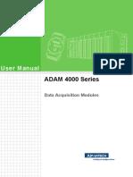 ADAM-4000 Series User Manual Ed.8