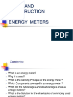 AC Ppt Energy Meters and Failure Analysis