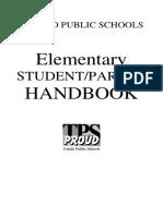 Student handbokk