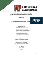DESAPARICION FORZADA