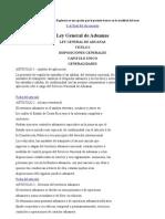Ley General de Aduanas