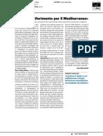 """Fano Marine Center, """"Punto di riferimento per il Mediterraneo"""" - Il Resto del Carlino del 1 novembre 2019"""