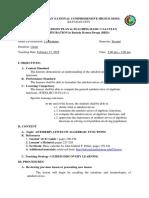 Antiderivatives of Alebraic (Bkd)