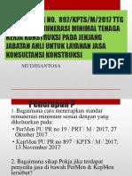 Besaran Remunerasi Minimal Tenaga Kerja Konstruksi 33
