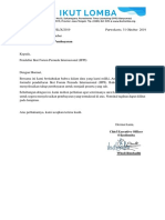 Surat Tagihan Pembayaran IFPI