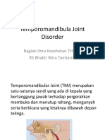 Temporomandibula Joint Disorder
