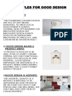 10 principles for good design (product)