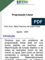 Aula5 Programação Linear