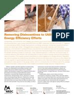 Decoupling Utility Energy