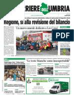 La rassegna stampa nazionale e umbra del 4 novembre 2019, prime pagine