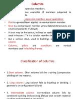 Unit IV Columns